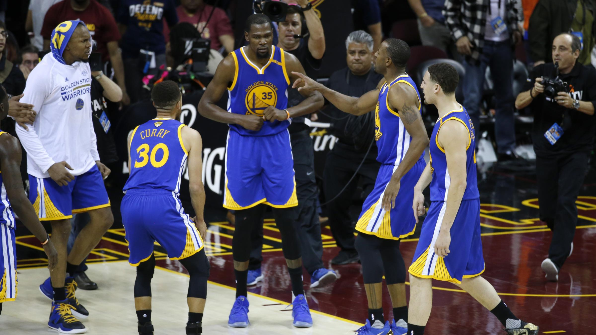 Cavs dominate Warriors in Game 4 of Finals