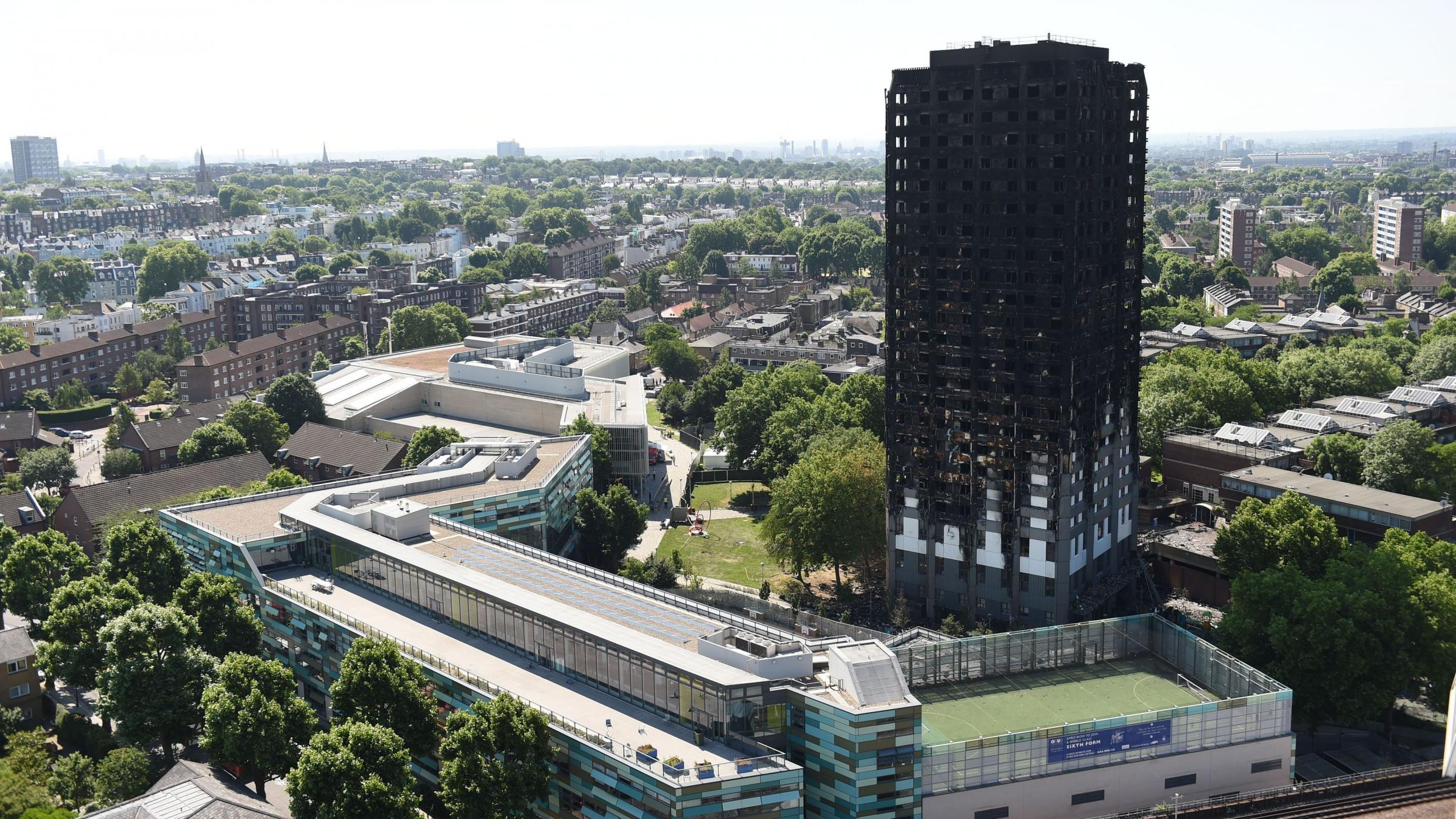 Fears of resident in tower block refurbished by Grenfell cladding contractor